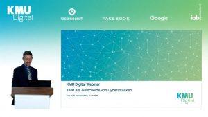 KMU Digital Webinar - KMU als Zielscheibe von Cyberattacken